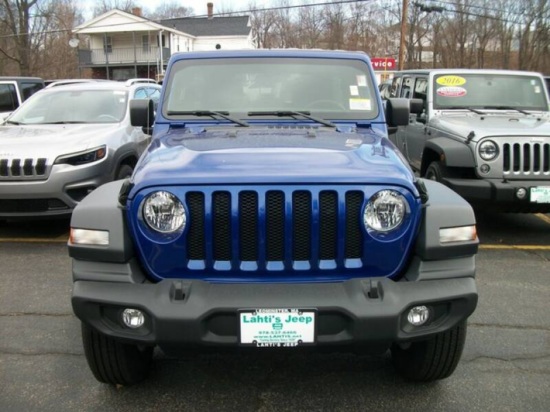 2020 Jeep Wrangler Unlimited Sport S (image 2)