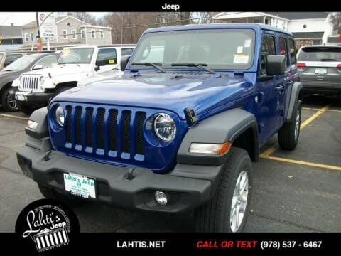 2020 Jeep Wrangler Unlimited Sport S for sale at Lahti's Jeep - Used in Leominster MA