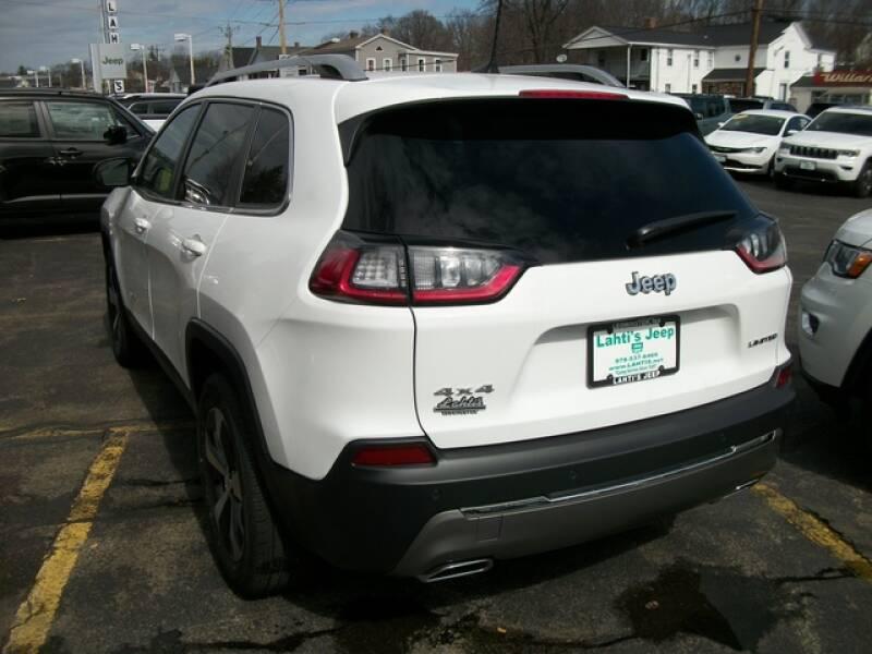 2020 Jeep Cherokee Limited (image 8)