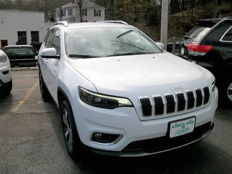 2020 Jeep Cherokee Limited (image 3)