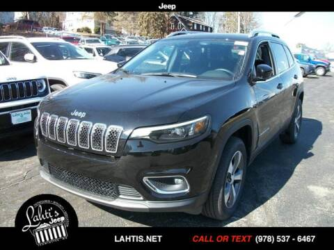 2020 Jeep Cherokee Limited for sale at Lahti's Jeep - Used in Leominster MA