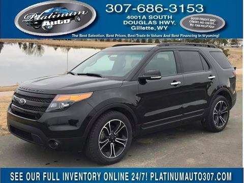2014 Ford Explorer for sale in Gillette, WY