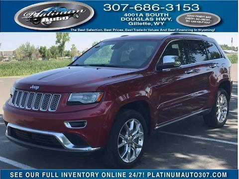 2014 Jeep Grand Cherokee for sale in Gillette, WY