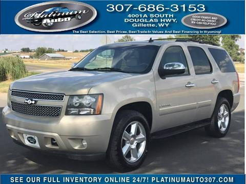 2009 Chevrolet Tahoe for sale in Gillette, WY