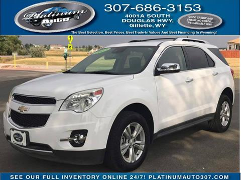 2013 Chevrolet Equinox for sale in Gillette, WY