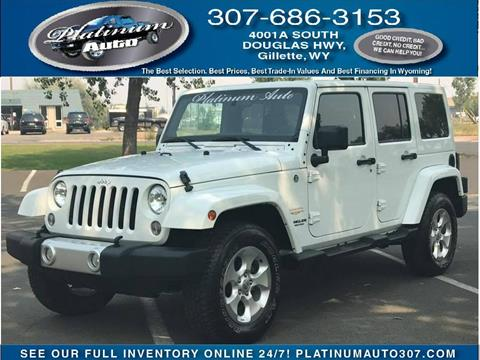 2014 Jeep Wrangler Unlimited for sale in Gillette, WY