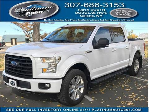 2016 Ford F-150 for sale in Gillette, WY