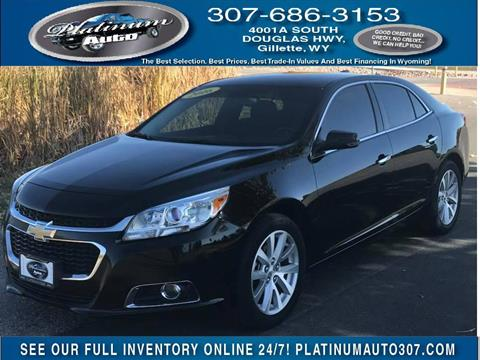 2016 Chevrolet Malibu Limited for sale in Gillette, WY