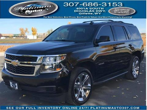 2015 Chevrolet Tahoe for sale in Gillette, WY
