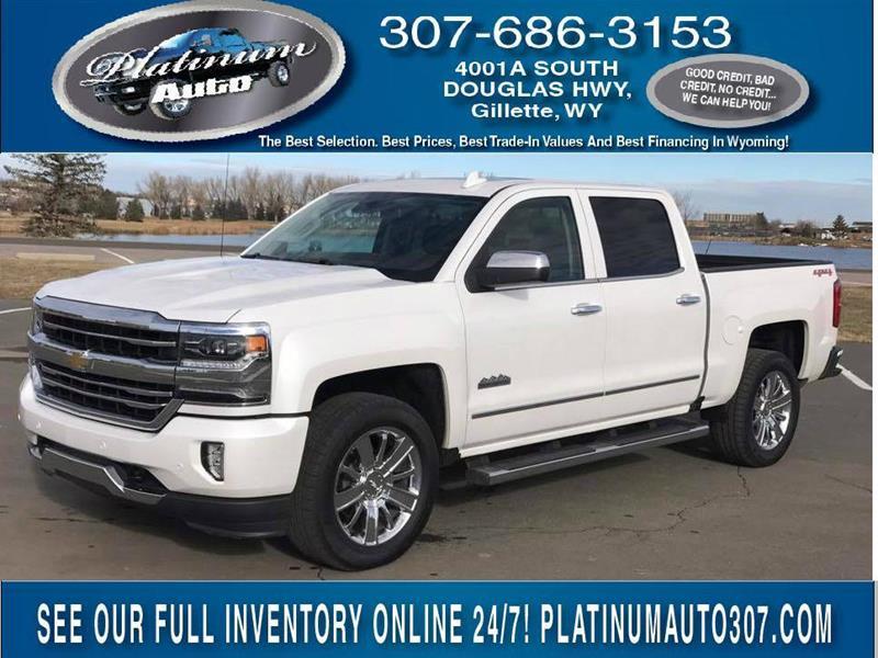 Chevrolet Used Cars Pickup Trucks For Sale Gillette Platinum Auto