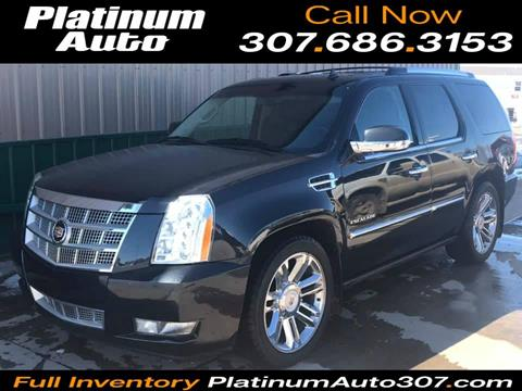 2013 Cadillac Escalade for sale in Gillette, WY
