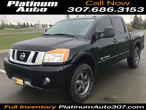 2015 Nissan Titan for sale in Gillette, WY
