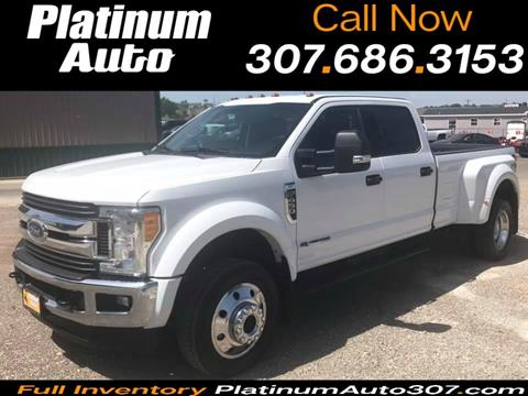 2017 Ford F-450 Super Duty for sale in Gillette, WY