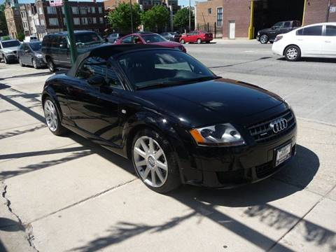 2004 Audi TT for sale at CAR CENTER INC in Chicago IL