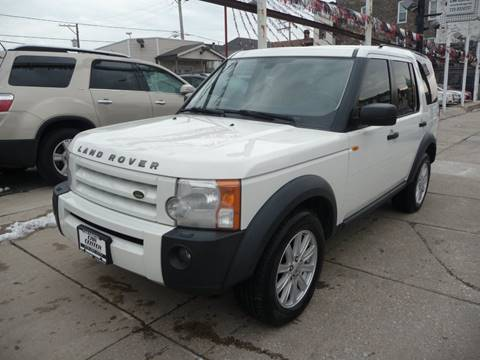 2008 Land Rover LR3 for sale at CAR CENTER INC in Chicago IL