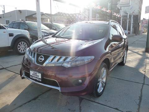 2010 Nissan Murano for sale at CAR CENTER INC in Chicago IL