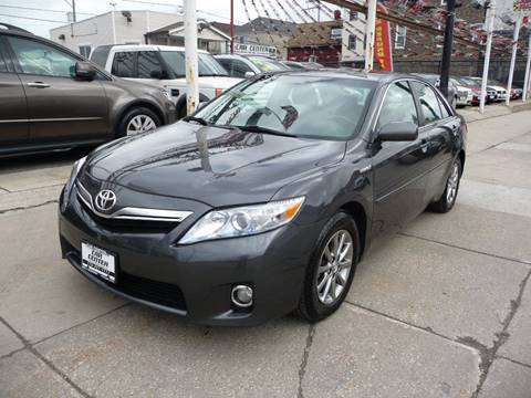 2010 Toyota Camry Hybrid for sale at CAR CENTER INC in Chicago IL