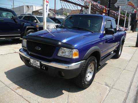 2003 Ford Ranger for sale at CAR CENTER INC in Chicago IL