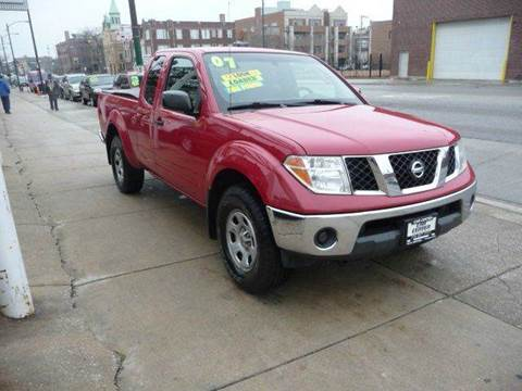 2007 Nissan Frontier for sale at CAR CENTER INC in Chicago IL