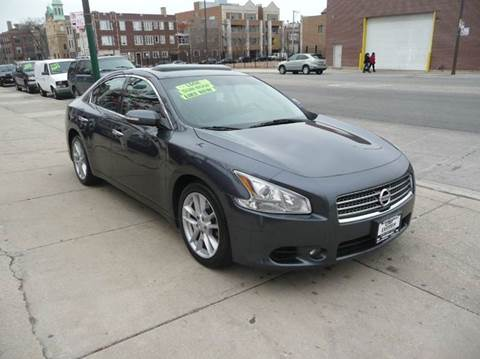 2010 Nissan Maxima for sale at CAR CENTER INC in Chicago IL