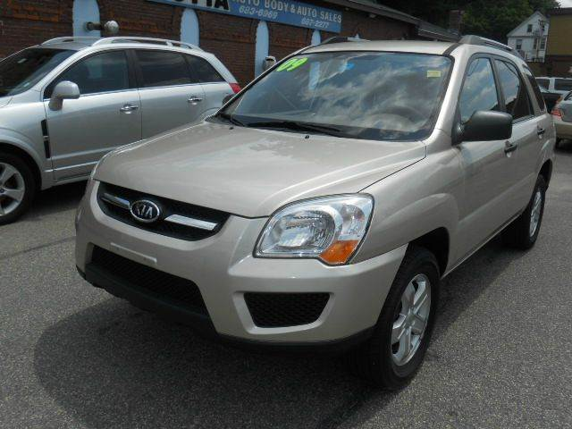 2009 Kia Sportage for sale at MOTTA AUTO SALES in Methuen MA