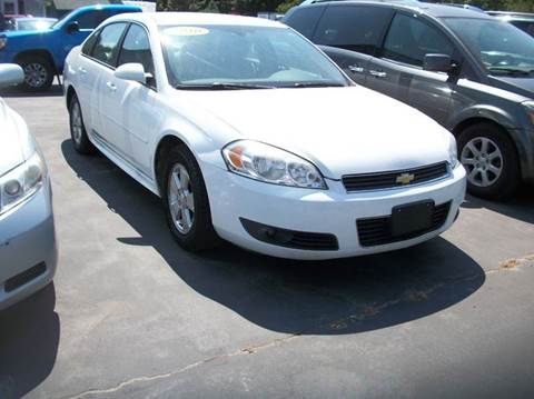 2010 Chevrolet Impala for sale at MATTESON MOTORS in Raynham MA