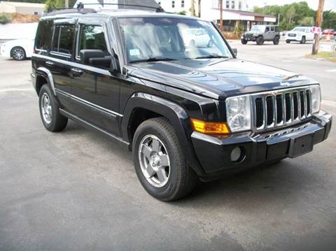 2007 Jeep Commander for sale at MATTESON MOTORS in Raynham MA