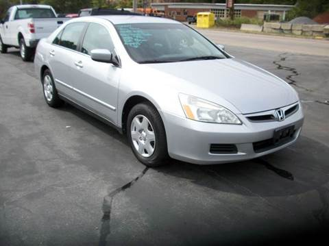 2007 Honda Accord for sale at MATTESON MOTORS in Raynham MA
