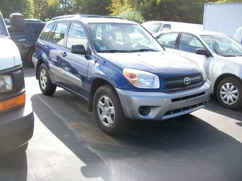 2004 Toyota RAV4 for sale at MATTESON MOTORS in Raynham MA