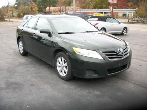 2011 Toyota Camry for sale at MATTESON MOTORS in Raynham MA
