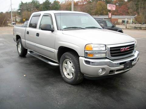 2005 GMC Sierra 1500 for sale at MATTESON MOTORS in Raynham MA