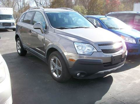 2012 Chevrolet Captiva Sport for sale at MATTESON MOTORS in Raynham MA
