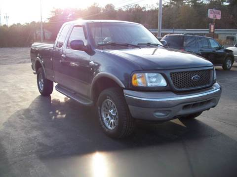 2002 Ford F-150 for sale at MATTESON MOTORS in Raynham MA