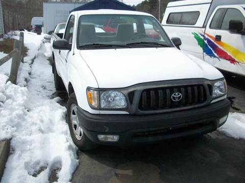 2003 Toyota Tacoma for sale at MATTESON MOTORS in Raynham MA