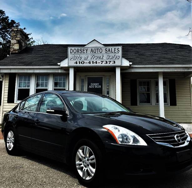 2010 Nissan Altima For Sale At Dorsey Auto Sales LLC In Prince Frederick MD