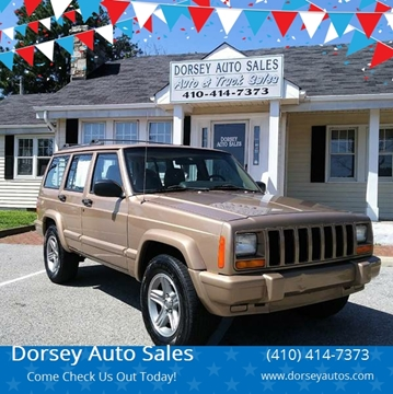 2000 Jeep Cherokee for sale in Prince Frederick, MD