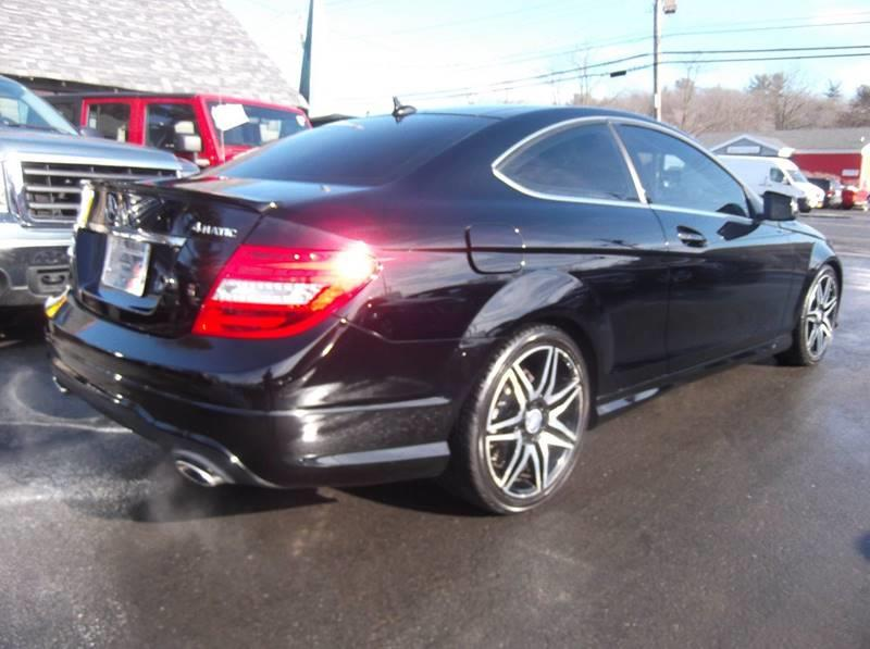 2013 Mercedes-Benz C-Class AWD C 350 4MATIC 2dr Coupe - Kingston NY