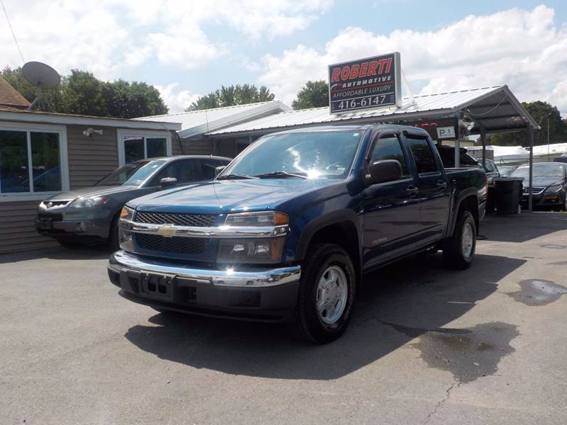 2005 Chevrolet Colorado 4dr Crew Cab Z85 LS 4WD SB - Kingston NY