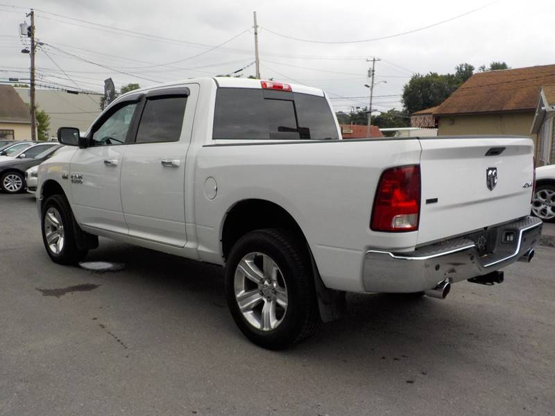 2013 RAM Ram Pickup 1500 4x4 SLT 4dr Crew Cab 5.5 ft. SB Pickup - Kingston NY