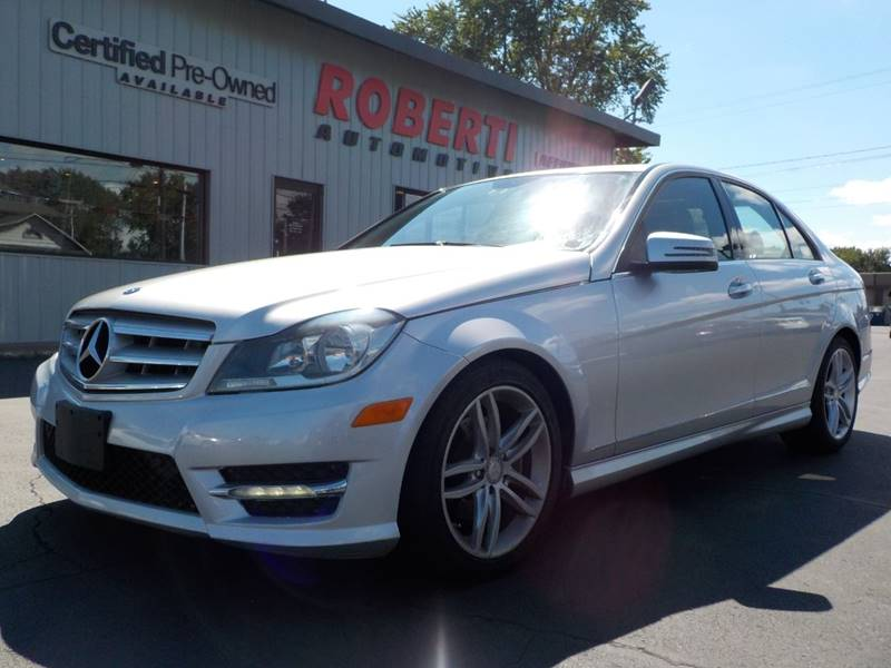 2012 Mercedes Benz C Class For Sale At Roberti Automotive In Kingston NY