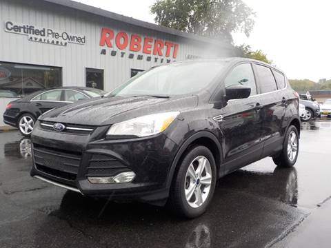 2015 Ford Escape for sale at Roberti Automotive in Kingston NY