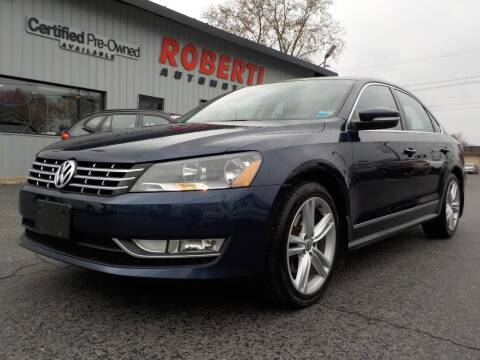 2014 Volkswagen Passat for sale at Roberti Automotive in Kingston NY