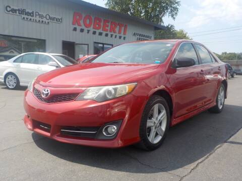 2012 Toyota Camry for sale at Roberti Automotive in Kingston NY