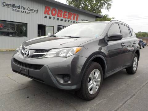 2013 Toyota RAV4 for sale at Roberti Automotive in Kingston NY