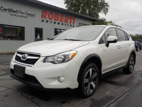 2014 Subaru XV Crosstrek for sale at Roberti Automotive in Kingston NY