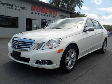 2011 Mercedes-Benz E-Class for sale at Roberti Automotive in Kingston NY