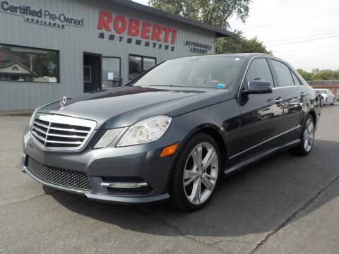 2013 Mercedes-Benz E-Class for sale at Roberti Automotive in Kingston NY