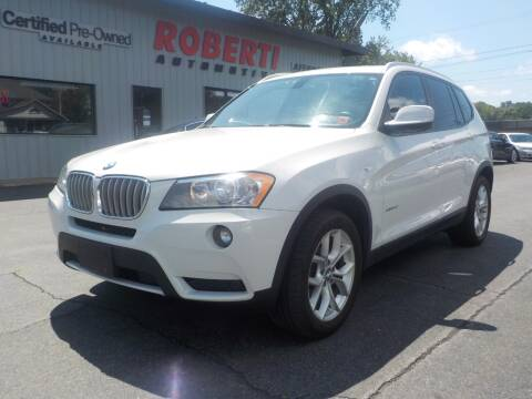 2013 BMW X3 for sale at Roberti Automotive in Kingston NY