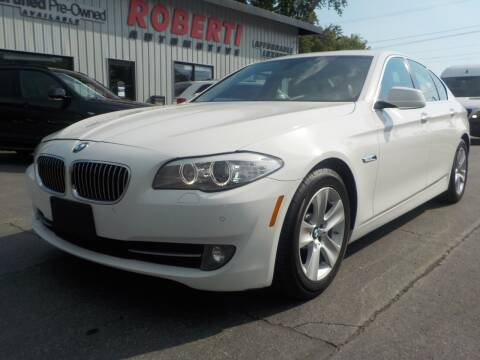 2013 BMW 5 Series for sale at Roberti Automotive in Kingston NY