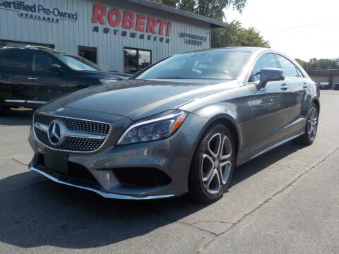 2016 Mercedes-Benz CLS for sale at Roberti Automotive in Kingston NY